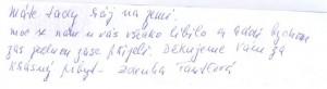 Hodnocení spisovatelka Zdeňka Fantlová